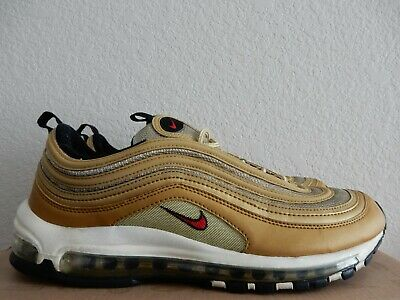 newest c8253 61f2f USED Nike Air Max  97 GOLD MEDAL (2010) Metallic gold sz 10.5 100