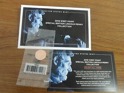 2019 W Proof Lincoln Cent Original Packaging from the West Point Mint