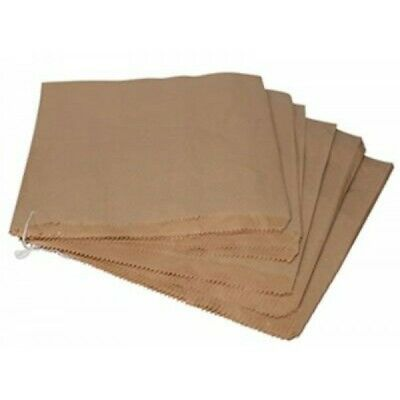 Brown Kraft Paper Snack Bags Burger Wraps/grease proof Kebab Bags Biodegradable