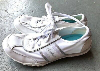 on sale new appearance official images PERFECT CLEAN WOMENS White Skechers Sneakers Shoes 9 Euc ...