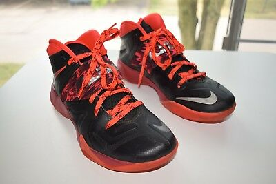 9d6f5ae7331 Nike Zoom Soldier Lebron James VII Mens Basketball Shoes 609679-005 Size 9