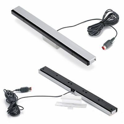 Wired IR Remote Ray Sensor Bar Infrared Inductor for Nintendo Wii Controller US