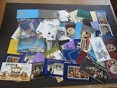 British Commonwealth - Large Collection Of Royal Wedding Booklets - 1981/86 - 58
