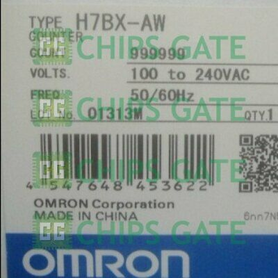 1PCS ONE OMRON Counter H7BX-AW AC100-240V Brand NEW IN BOX Fast Ship