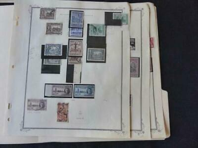 Jamaica 1945-1956 Mint/Used Stamp Collection Many Vars on Scott Spec Album Pgs