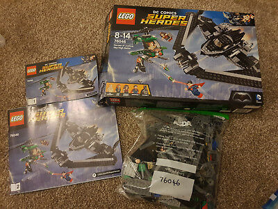 LEGO DC Super Heroes 76046 Heroes of Justice Sky High Battle Complete Boxed