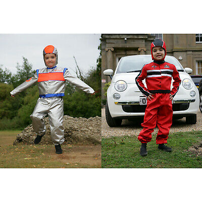 Amscan Astronaut/Racing Driver 2 in 1 Costume - Age 9-11 Years