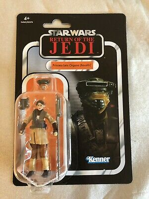 Star Wars vintage collection Princess Leia VC bounty hunter Boushh disguise New