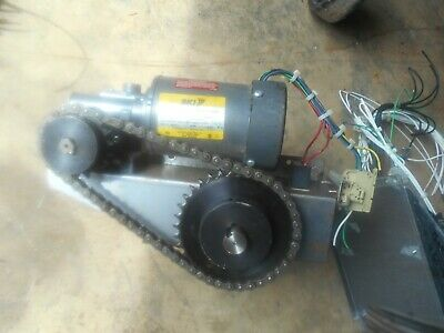 Bki Vgg-8 Rotisserie Oven   Drive Motor Gearbox,Gears Chain