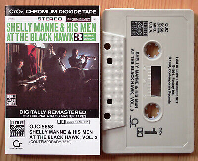 Shelly Manne & His Men - At The Blackhawk 3 (Ojc 5658) 1991 Us Cassette Jazz