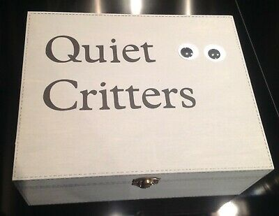 EXTRA LARGE - Quiet Critters - 1 ONLY! (WARM PEWTER)