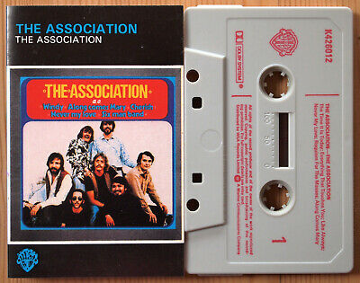 THE ASSOCIATION (WARNER BROS K426012) 1970s UK REISSUE CASSETTE TAPE 1960s POP