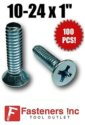 100 Qty #8 x 1-1//4 Zinc Coated Oval Phillips Head Wood Screws BCP262 BCP Fasteners