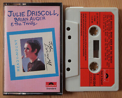 Julie Driscoll, Brian Auger & The Trinity (Polydor 3192204) Uk Cassette Tape