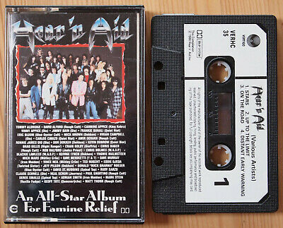 Various - Hear 'n Aid (Vertigo Verhc 35) 1986 Uk Cassette Compilation Metal Rare