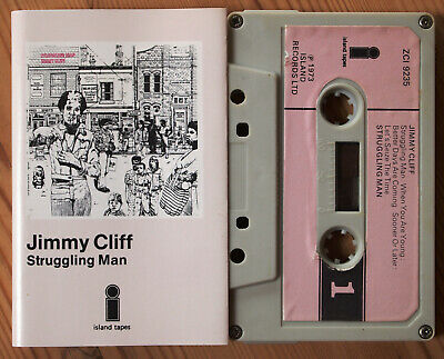 Jimmy Cliff - Struggling Man (Island Zci 9235) 1973 Uk Cassette Tape Reggae