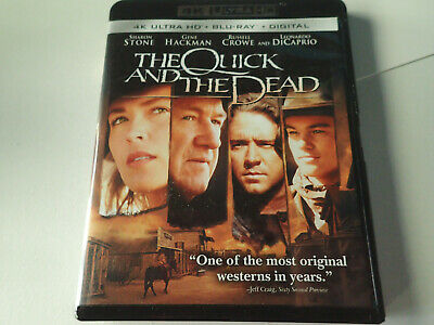 The Quick and The Dead 4K ULTRA HD/2 DISC SET USED WITH Digital CODE UHD
