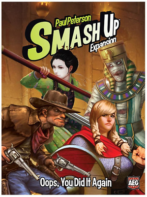 Smash Up: Oops, You Did It Again $24.99 Value (Alderac Entertainment Group)