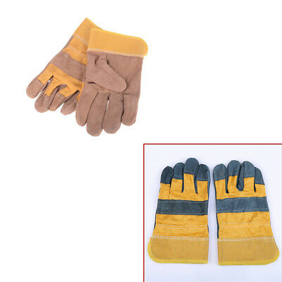 Anti-skid Wear resistant Welding Gloves Cowhide Protective Gloves For Weld HY