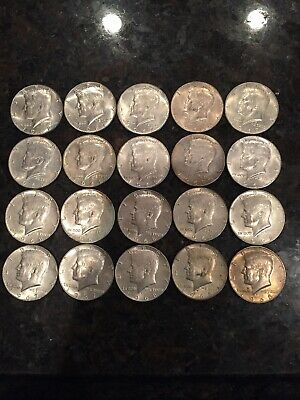 (1) Roll of 40% Silver Kennedy Half Dollar (20 coins) 1965-1969 Lot