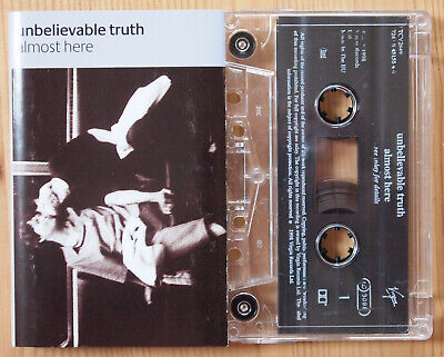 Unbelievable Truth - Almost Here (Virgin Tcv2849) Uk Cassette Radiohead Alt Rock