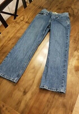 Boys Lee Premium Select jeans (youth size 10R). Preowned. Adjustable waist.