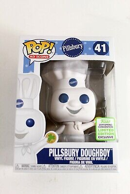 Funko Pop Ad Icons Pillsbury Doughboy w/Shamrock ECCC Funko Shop IN HAND