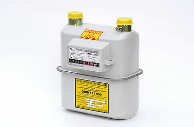"""Elster BK-G4 U6 3/4"""" Domestic Natural Gas Meter: Suitable for Flats Apartments"""