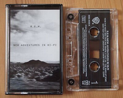 R.e.m. - New Adventures In Hi-Fi (Warner 9362463204) 1996 Europe Cassette Ex Con