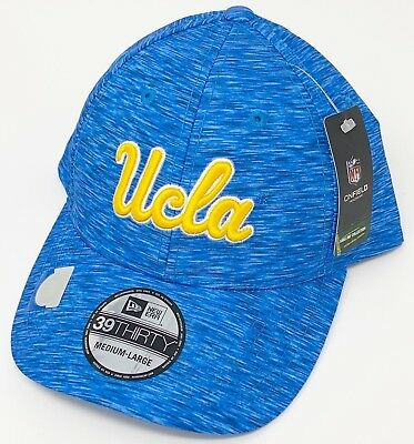 cheap for discount 6ce47 04543 NWT UCLA Bruins New Era Sideline OnField Flex Hat Adjustable Blue Gold  Yellow