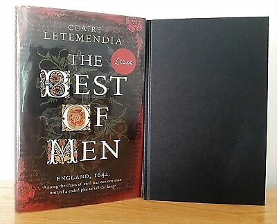 Clare Letemendia - The Best Of Men ~ 1St/1St Signed + Dated Hb 2009