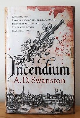 Incendium - Book 1 Of The Christopher Radcliff Series - Ltd Ed Red Edges Signed