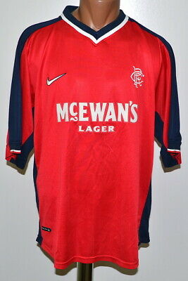 Rangers Scotland 1998/1999 Third Football Shirt Jersey Nike Vintage Size Xl