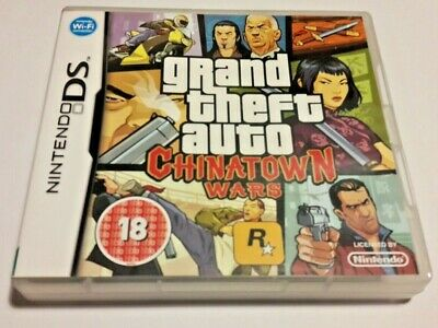grand theft auto CHINATOWN WARS ON NINTENDO DS