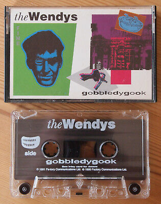 The Wendys - Gobbledygook (Factory Fact 285C) 1991 Uk Cassette Tape