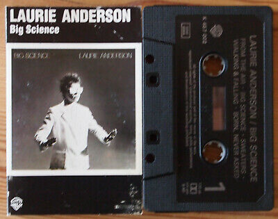 Laurie Anderson - Big Science (K457002) Europe Reissue Cassette Tape