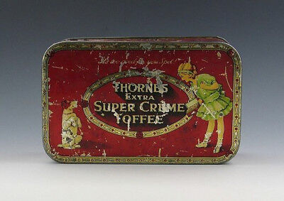 Blechdose THORNS SUPER CREME TOFFEE um 1920