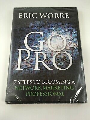 FACTORY SEALED Eric Worre- Go Pro Network Marketing Audiobook CD NEW