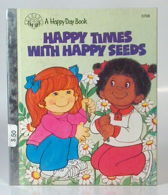 Vintage Happy Day Book Happy Times With Happy Seeds Religious Books For Children