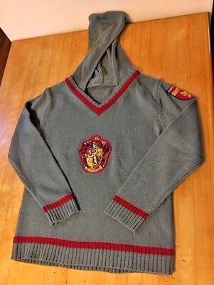 Harry Potter Hogwarts GRYFFINDOR Sweater Halloween Costume Boys/Girls Size Large