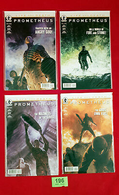 C196 Prometheus Life and Death 1-4 Complete Comics Bagged & Boarded
