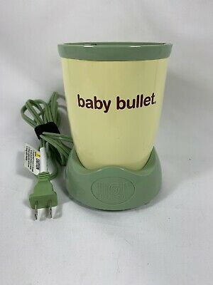 Magic Bullet Baby Bullet Food Blender Replacement Power Base Motor Only
