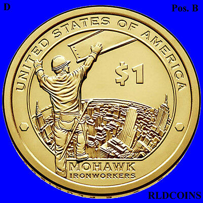 2015 D Sacagawea Native American Uncirculated Dollar Pos B