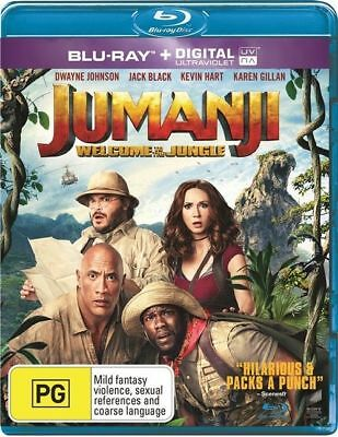Jumanji - Welcome To The Jungle (Blu-ray, 2018)