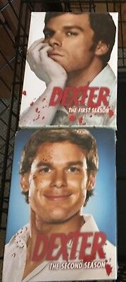 Dexter - The Complete First & Second season DVD's - new & unopened