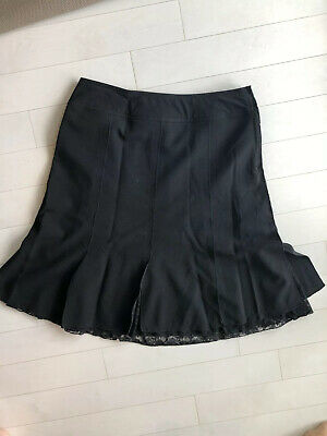 2aca2a4ae8 ALLISON TAYLOR BLACK Pleated Skirt Size Small S - $17.00 | PicClick
