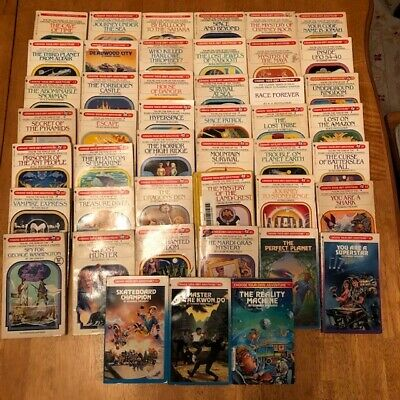 Lot of 45 Choose Your Own Adventure CYOA Paperback Books Vintage