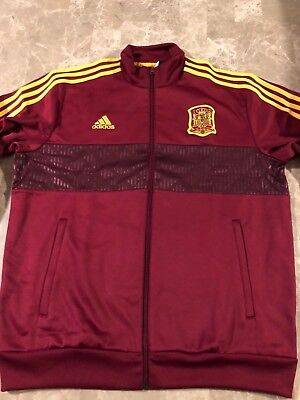 9eac420f3fe 2018/2019 SPAIN FEF Track Jacket Adidas World Cup Russia 2018 Mens ...