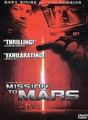 Mission to Mars (DVD, 2000, Special Edition) FREE SHIPPING!