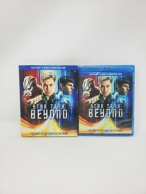 Star Trek Beyond NEW SEALED BLU-RAY DVD+Digital HD+ Special Features-Free Shippi